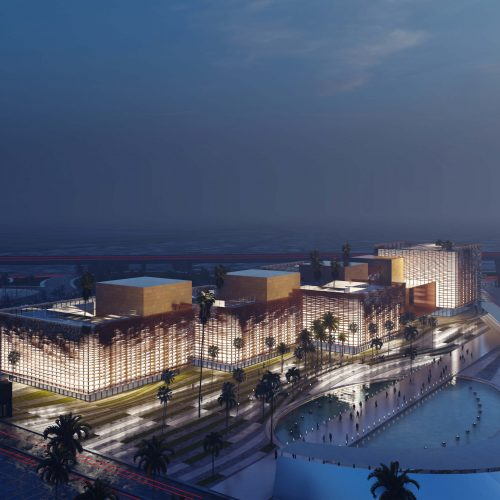 Mixed use project by Ldp+Partners – Gold District Nine